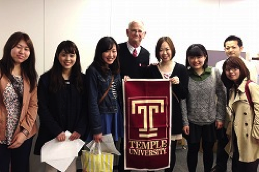 Toyo RDS and Temple University Japan (TUJ) have agreed to collaborate on a cross-registration arrangement.  Photos courtesy of Toyo University