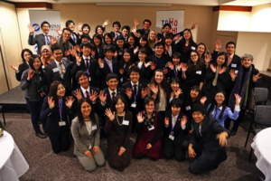 Farewell Event for Ritsumeikan University Students at DePaul University Photo courtesy of DePaul University